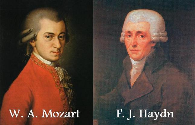 comparison of mozart and haydn What is the difference between mozart and haydn • mozart lived for only 35 years while haydn lived for 77 years • the music of haydn feels similar to that of mozart, and in part, this is true because both were friends and had great influences on each other.